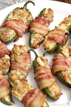 Easy Jalapeño Poppers | With Sausage & Bacon