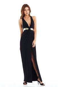 Black Twister Maxi Dress : Buy Designer Dresses Online at Nookie