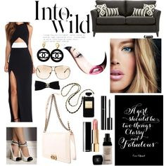 """into the wild with B&W"" by jessicadhy on Polyvore"