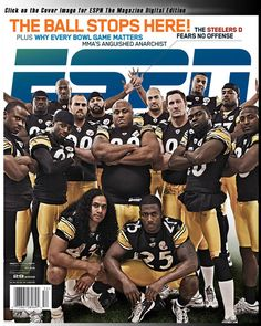 Pittsburgh Steelers Retired Players List | Steelers Defense On Cover Of ESPN The Magazine | Steelers Depot
