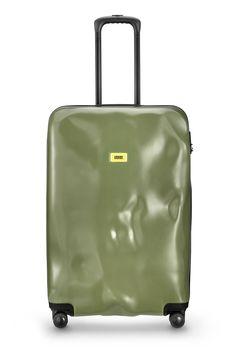 Crash Baggage 4 -Wheel Large Suitcase-Super Black | CB4WLS-Super ...