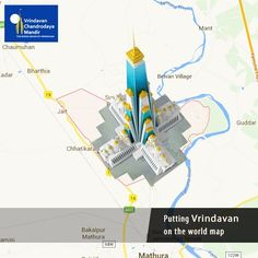 Chandrodaya Mandir one of its kind temple, will bring Vrindavan into the limelight. Help us-