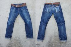 raw denim com 4 meses de uso