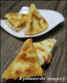 Triangolini di pizza in padella