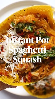 Veggie Pasta Recipes, Sweet Potato Recipes Healthy, Healthy Recipe Videos, Spaghetti Recipes, Vegetable Recipes, Healthy Recipes, Healthy Eating Meal Plan, Healthy Eats, Instant Pot Pressure Cooker