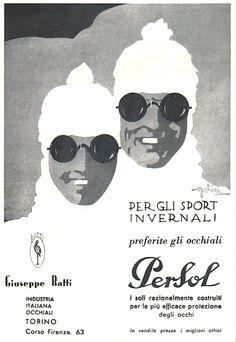 Persol Ratti Vintage ad