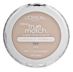 LOreal Paris True Match SuperBlendable Compact Makeup SPF 17 Natural Ivory 030 Ounce ** Discover this special product, click the image : All Natural Makeup