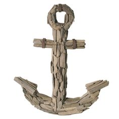 Eco Homewares & Decor l Driftwood Anchor l Nautical Accessories