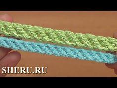 Нежный шнур гусеничка крючком Урок 97 Crochet Cord How to - YouTube