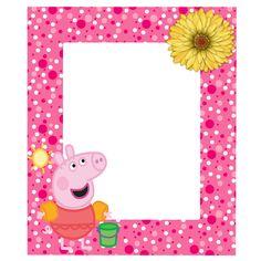 MARCOS PARA PHOTOSHOP Y ALGO MAS: PEPPA PIG Party Photo Frame, Photo Booth, Peppa Pig Teddy, Cumple Peppa Pig, Culture Art, George Pig, Fourth Birthday, Pig Birthday, Birthday Frames