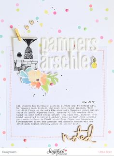 think pink & mint – Scrapbooking, Project Life, Memory Keeping