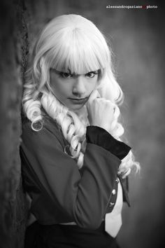 Lucca 2015, cosplayer in biancoenero. -  #cosplay #foto #blog #alessandrogaziano #cosplayer #woman #girl #LuccaComics