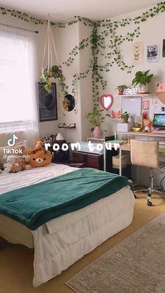 Room Design Bedroom, Room Ideas Bedroom, Home Room Design, Bedroom Decor, Pinterest Room Decor, Indie Room Decor, Study Room Decor, Cozy Room, Pretty Room