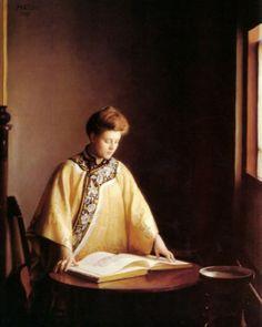 William McGregor Paxton - The Yellow Jacket, 1907 - America