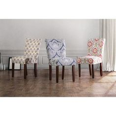 Shop for Furniture of America Bessia Modern Patterned Accent Chair (Set of 2). Get free shipping at Overstock.com - Your Online Furniture Outlet Store! Get 5% in rewards with Club O!