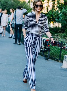 Olivia Palermo in Tommy Hilfiger | The Luxe Lookbook