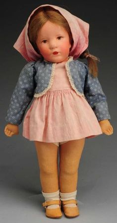 heart breaking beautiful   The doll maker name that comes to mind is Kathe Kruse of Germany - -but I'm not sure.