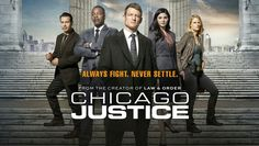 Chicago Justice TV show on NBC: Cancelled or Renewed? - canceled + renewed TV shows - TV Series Finale Chicago Fire, Chicago Shows, Chicago Med, Chicago Style, Criminal Minds, Ncis, Chicago Justice, Party, Posters