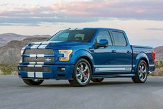 Shelby American unveils the new Shelby Super Snake and marks the return of the Shelby muscle truck Shelby Truck, Shelby F150, New Trucks, Ford Trucks, Pickup Trucks, Super Snake, Dodge Challenger Hellcat, Ford Gt, Custom Trucks
