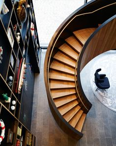 The staircase as a work of art | Architecture at Stylepark