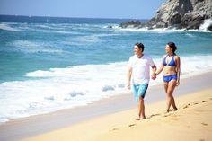 Take advantage of this #TakeaHikeDay and venture out to explore Cabo San Lucas beaches.  www.sandos.com  Aprovecha este #DíaDeTomarUnaCaminata y aventúrate a conocer las playas de Cabo San Lucas.