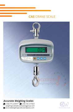 Accurate Weighing Scales supplies crane scales with a compact portable design and will give you years of trouble-free operation. Use in recycling, material handling applications, shipping/receiving. For inquiries on deliveries contact us Office +256 (0) 705 577 823, +256 (0) 775 259 917 Address: Wandegeya KCCA Market South Wing, 2nd Floor Room SSF 036 Email: weighingscales@countrywinggroup.com Us Office, Weighing Scale, 2nd Floor, Aluminium Alloy, How To Be Outgoing, Crane, The Unit, East Africa, Safety