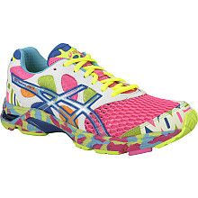 ASICS women's gel-noosa tri running shoes. If I had these shoes, I would run every day just so I could wear them!