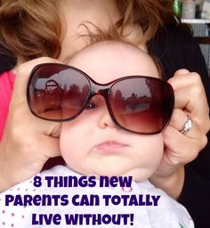 Essential New Parent Checklist - on it's head!  What NOT to get...