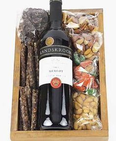 Red Wine, Chocs, Nuts and Biltong Gift Hampers, Gift Baskets, Striped Walls Nursery, Pamper Hamper, Biltong, Diy Spa, Spa Gifts, Homemade Gifts, Personalized Gifts