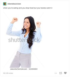 This sweet save: | 23 Times Tumblr Users Got Too Real About Having Boobs