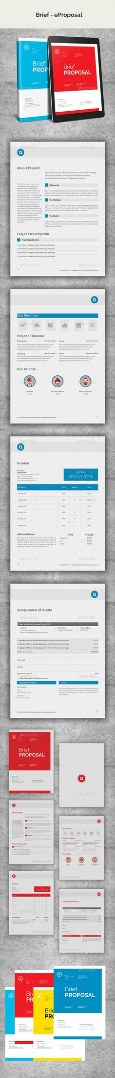 Brief eProposal - #ePublishing Download here: https://graphicriver.net/item/brief-eproposal/19551290?ref=alena994