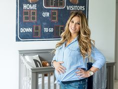 Eric Decker Jessie James Decker son nursery....LOVE this!!!