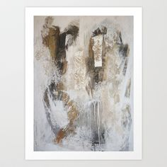 abstract Art Print by Lamade - $14.56