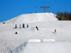 The ski slope Simpsiö. Lapua Finland. https://www.facebook.com/mokkivalitys?fref=ts