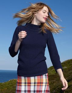 I've spotted this @BodenClothing Audrey Sweater in Berry or Bottle