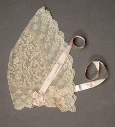 Woman's morning cap, ca. mid-19th cent. | In the Swan's Shadow