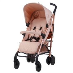 My Babiie Billie Faiers Rose Gold and Blush Pink Stroller Pushchair Buggy is Designed by celebrity mum Billie Faiers the Rose Gold and Blush… My Babiie, Katie Piper, Travel Systems For Baby, Rose Gold Frame, Baby Boutique Clothing, Thing 1, Pink Butterfly, Butterflies, Adjustable Legs