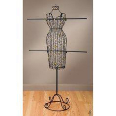 Tripar Metal Body Form with 2 Arms at WatzCatchy.com #fashion #tripar