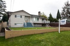 Huge Lot over 8600 sq.ft. with the potential of subdivision. BRAND NEW-LIKE 7 Bedroom, 3 Bathroom Basement Entry home in most desirable central location. Minutes to school, bus stop, Skytrain and park. Legal 3 bedroom basement. All measurements are approximate, buyer/agent to verify.Open house on Saturday April 16 2-4 pm and on sunday 1-3 pm.