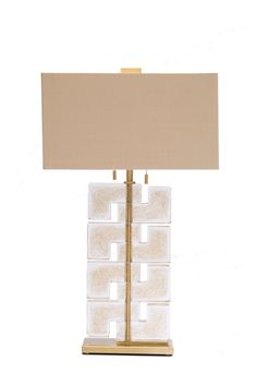 Esha Bassa Lamp shown in Gold Dust