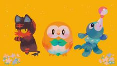 Pokemon Sun and Moon || im excited to meet these new friends