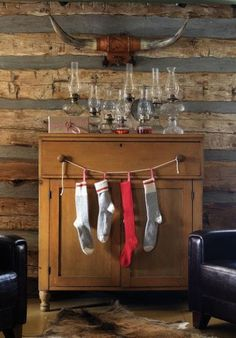 10 Festive Ways To Hang Christmas Stockings