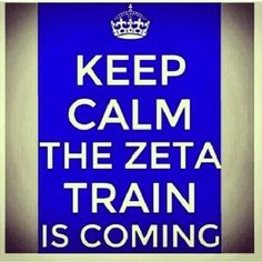 The Zeta Train is a-slowly pushin'!