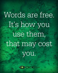 Words Are Free ❤