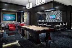Man Cave Decor Uk : 30 trendy billiard room design ideas game rooms and men cave