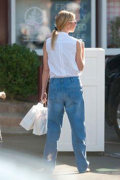 Gwyneth Paltrow Wore Mom Jeans