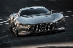 Mercedes Benz AMG Vision Gran Turismo Concept front view