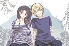 Hikaru no Go, Shindou Hikaru, Fujisaki Akari, Striped Shirt