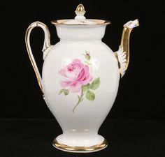 Meissen hand painted coffee/tea pot