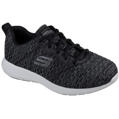 Skechers Men's Kulow - Numerator Black - Skechers ($50) ❤ liked on Polyvore featuring men's fashion, men's shoes, black, mens black cross training shoes, mens shoes, mens black lace up shoes, mens lace up shoes and skechers mens shoes